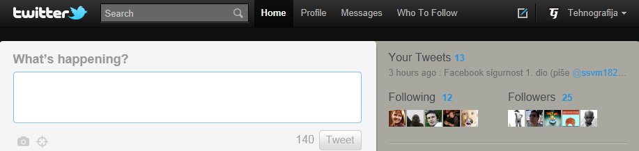 Twitter Čudan mi je ovaj Twitter!