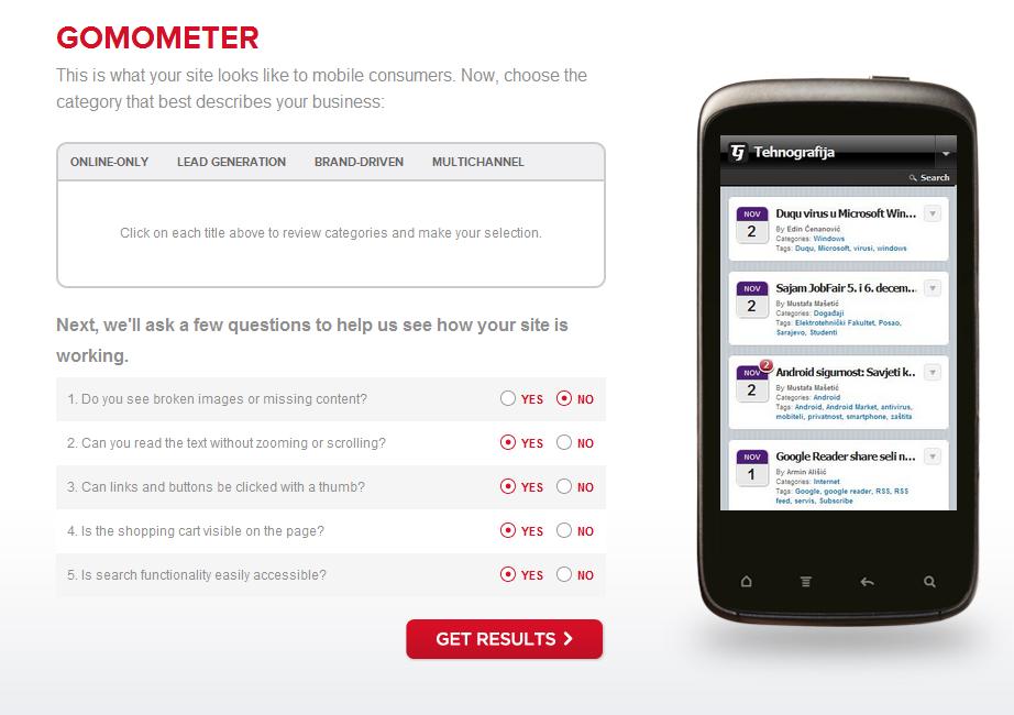 gomo2 Google pokrenuo GoMo portal za pomoć pri izradi mobilnih stranica