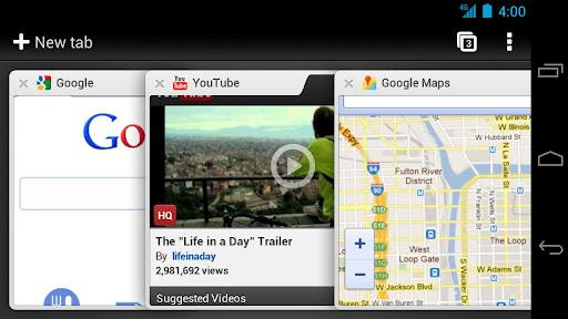 GoogleChrome A Google Chrome na Androidu izašao iz beta faze, od sada dostupan svima