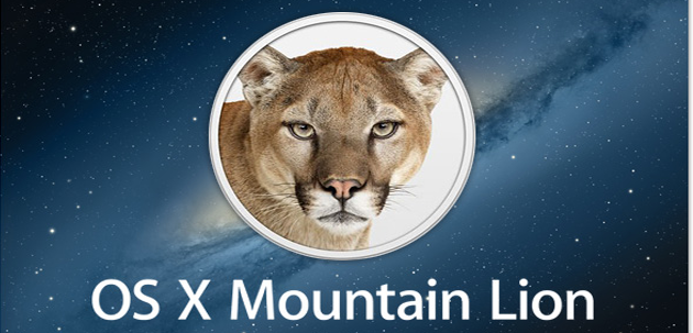 Mountain Lion OS X 6