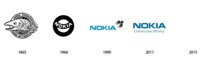nokia Prošlost i budućnost popularnih logoa