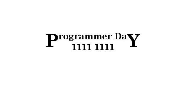 programer day