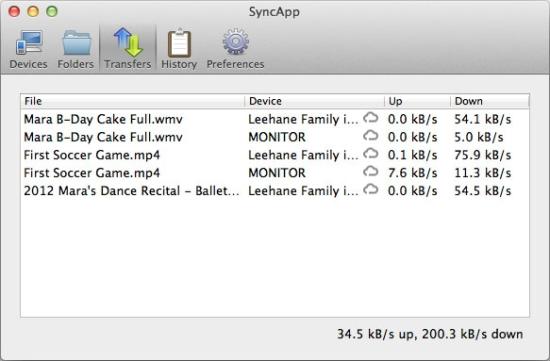 BitTorrent Sync App