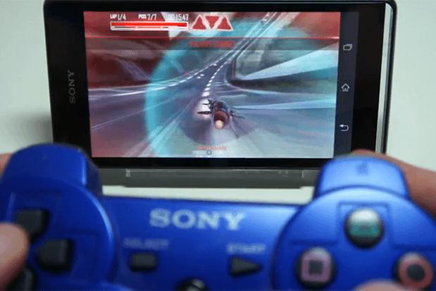 Xperia & DualShok 3 Controller