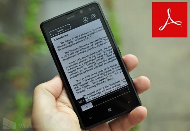 Adobe Reader WP8 Thumb
